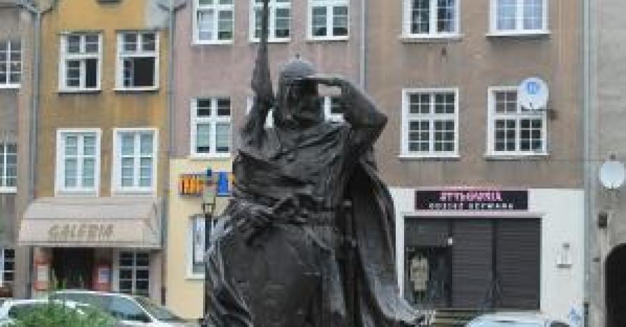 Pomnik Świętopełka w Gdańsku - zdjęcie
