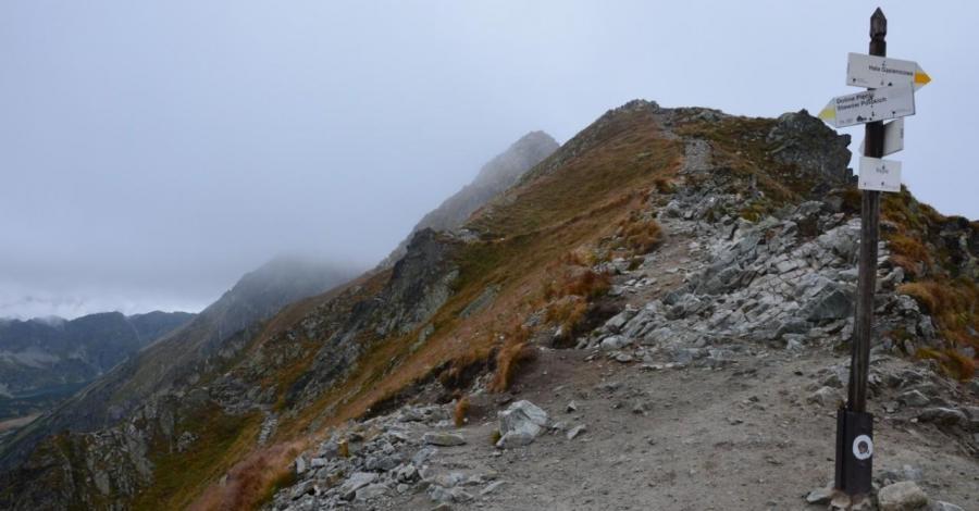 Przełęcz Krzyżne w Tatrach - zdjęcie