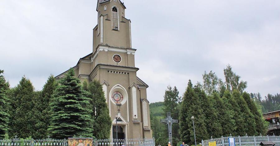 Kościół w Rajczy - zdjęcie