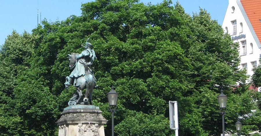 Pomnik Jana III Sobieskiego w Gdańsku - zdjęcie