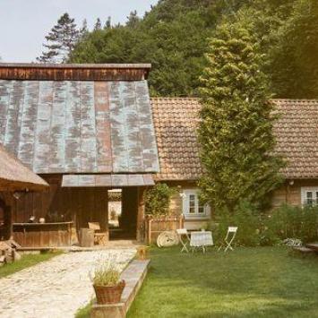 Boroniówka - stara osada młynarska w Ojcowskim Parku Narodowym