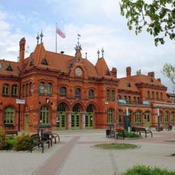 Dworzec kolejowy w Malborku