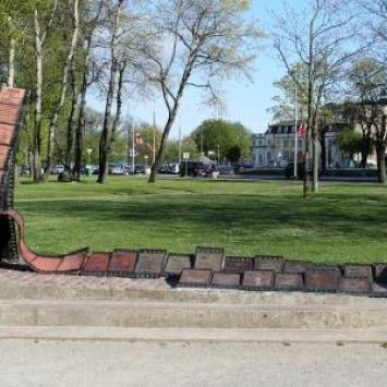 Pomnik Festiwalu Polskich Filmów Fabularnych w Gdyni