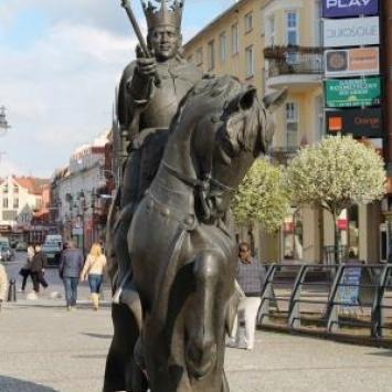 Pomnik Króla Kazimierza Jagiellończyka w Malborku