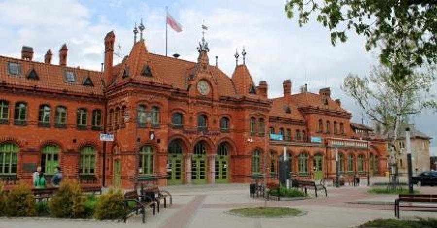 Dworzec kolejowy w Malborku - zdjęcie