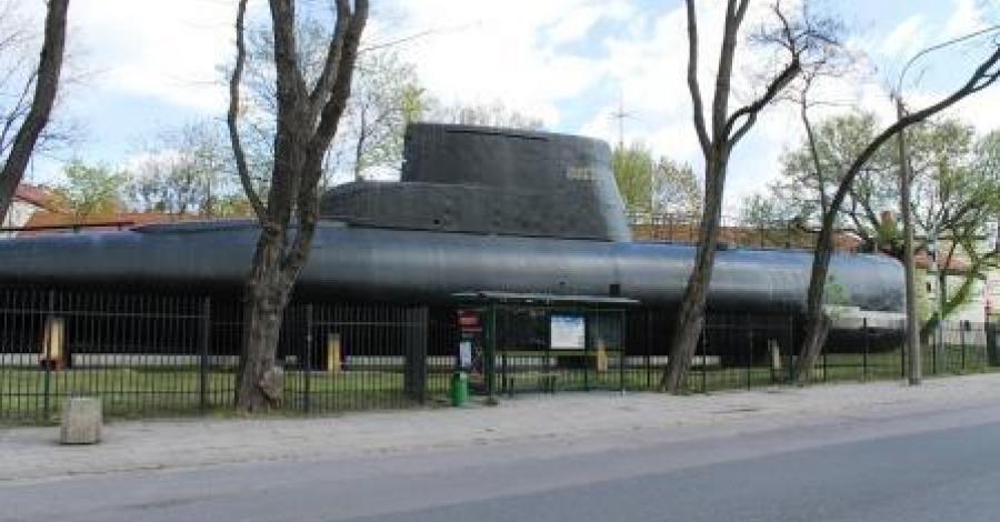 Okręt Jastrząb-Kobben w Gdyni - zdjęcie