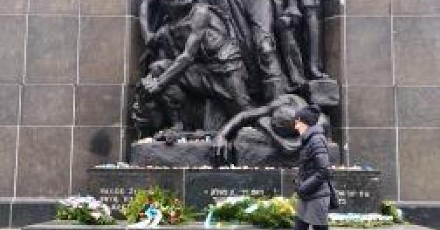 Pomnik Bohaterów Getta w Warszawie - zdjęcie