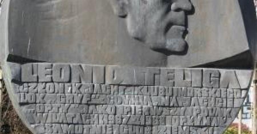 Pomnik Leonida Teligi w Gdyni - zdjęcie