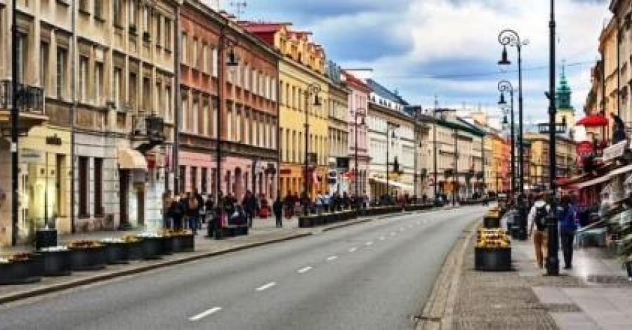 Ulica Nowy Świat w Warszawie - zdjęcie