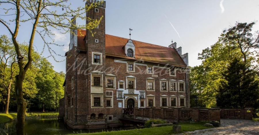 Zamek na wodzie w Wojnowicach - zdjęcie