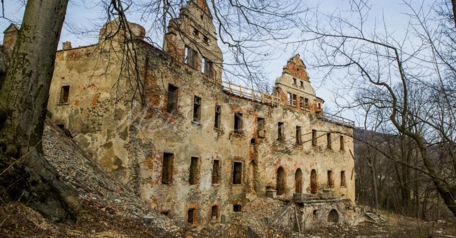 Zamek Niesytno w Płoninie - zdjęcie