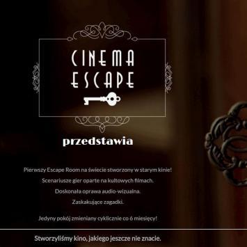 Cinema Escape w Pszczynie