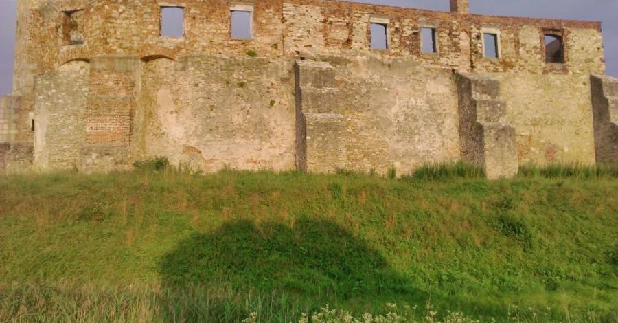 Zespół parkowo-pałacowy w Świerklańcu, zamek w Siewierzu, EmiZtg