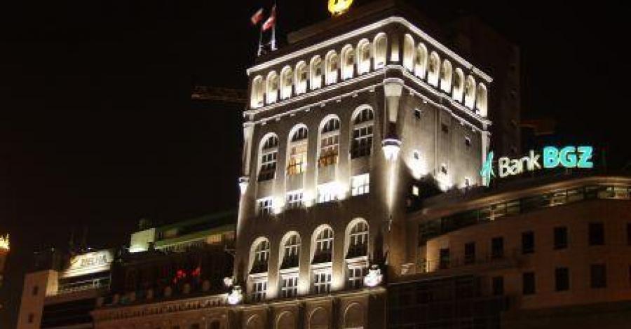 Budynek PAST-y w Warszawie - zdjęcie