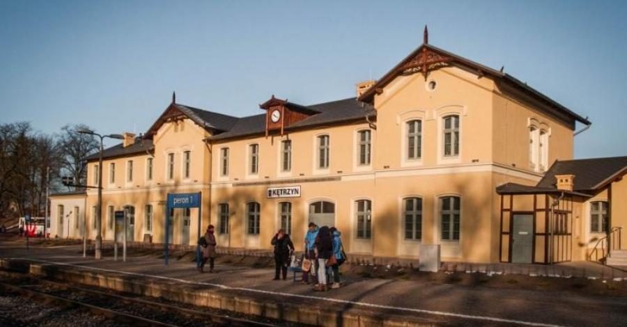 Dworzec w Kętrzynie - zdjęcie