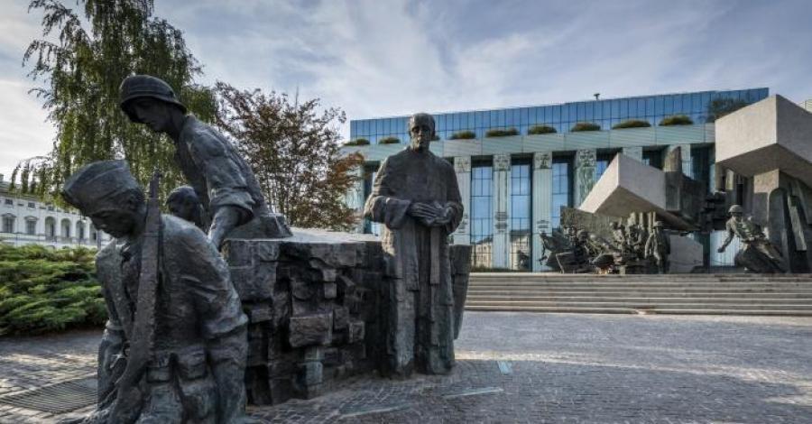 Pomnik Powstania Warszawskiego w Warszawie - zdjęcie