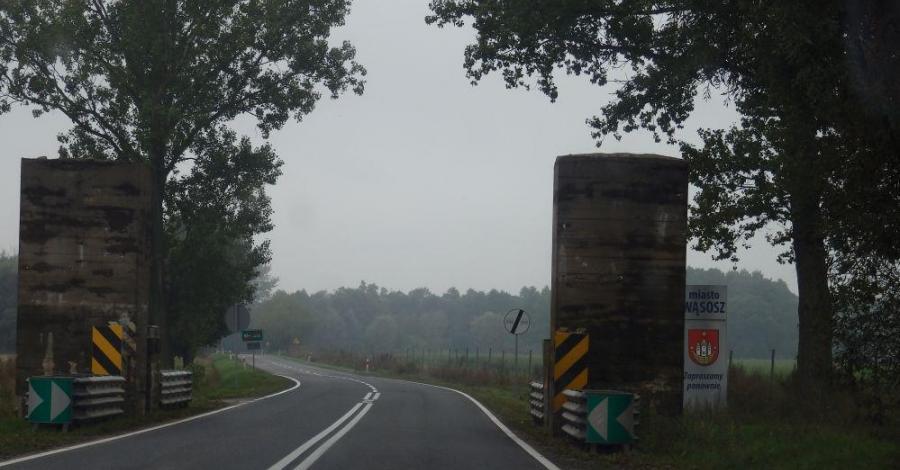 Zapora przeciwpancerna w Wąsoszu - zdjęcie
