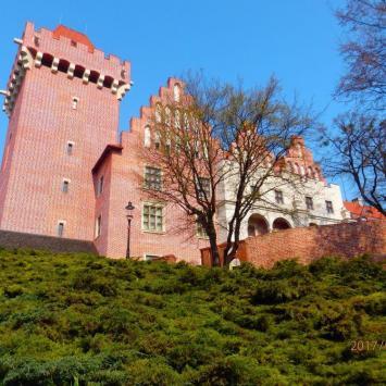 Poznań Wzgórze Przemysła - historyczny zamek króla Polski , klasztor Franciszkanów i ciekawe muzeum - zdjęcie