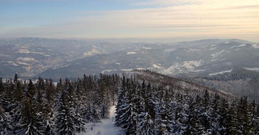Czantoria w Beskidzie Śląskim - zdjęcie