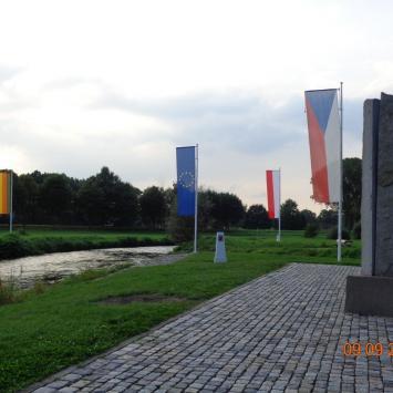 Trójstyk granic –Porajów, Hradek, Zittau