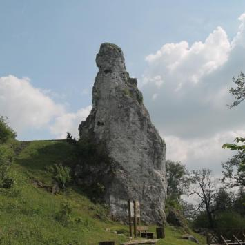 Skała miłości i Sanktuarium we Mstowie