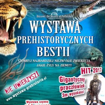 Wystawa Prehistorycznych Bestii w Jastrzębiej Górze