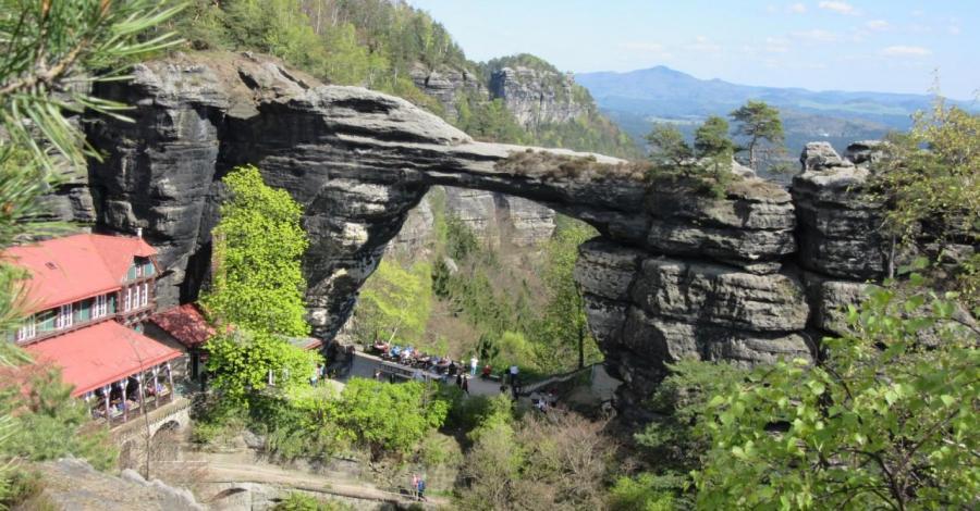 Najpopularniejszy i najładniejszy szlak w Czeskiej Szwajcari.