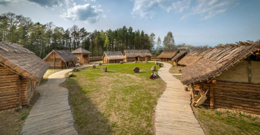 Osada Średniowieczna Sławutowo - zdjęcie