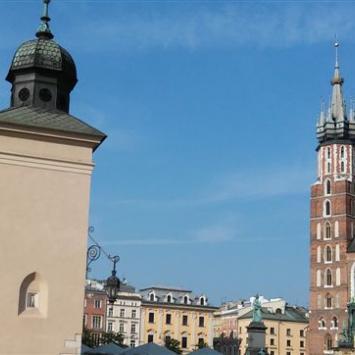 Słoneczny Kraków i Pieskowa Skała