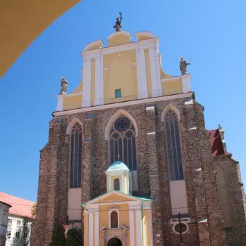 Kościół w Kamieńcu Ząbkowickim