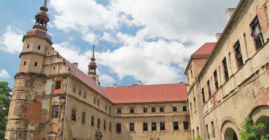Zamek w Głogówku - zdjęcie