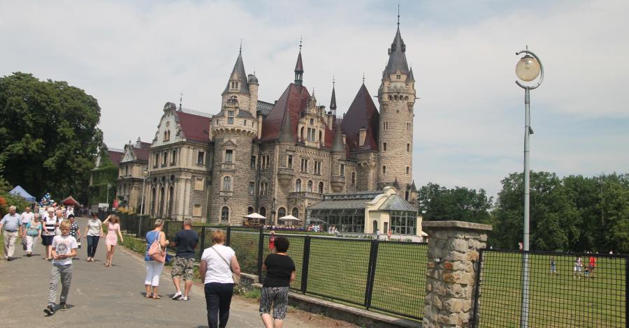 Moszna - Zamek - zdjęcie