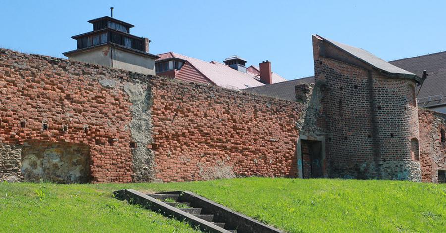 Mury obronne w Ząbkowicach Śląskich - zdjęcie