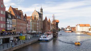 Gdańsk w popołudniowym słońcu - zdjęcie