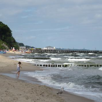 Ustronie Morskie-tygodniowy pobyt nad Bałtykiem