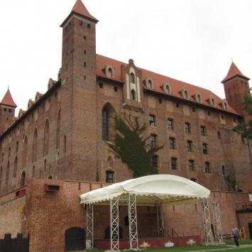 Zamek Gniew,Zamek Golub-Dobrzyń,Zamek Kwidzyn
