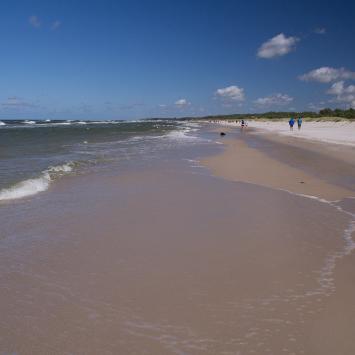 Plaża w Łebie na ternie Parku Narodowego, Anna Piernikarczyk