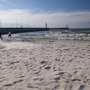 Plaża w Łebie, Anna Piernikarczyk