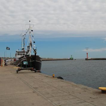 Władysławowo port, Anna Piernikarczyk