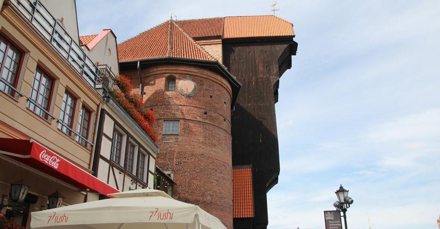 Żuraw w Gdańsku - zdjęcie