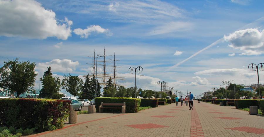 Molo w Gdyni - zdjęcie