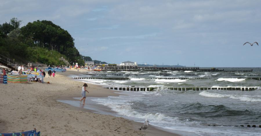 Ustronie Morskie-tygodniowy pobyt nad Bałtykiem, marian