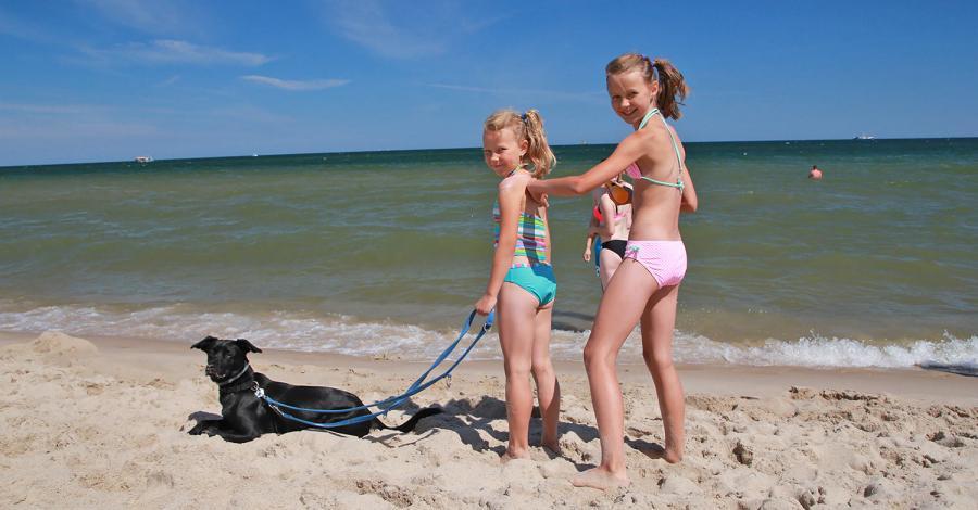 Władysławowo plażowanie i Puck - zdjęcie