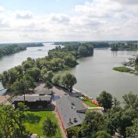 Jezioro Gopło z wieży