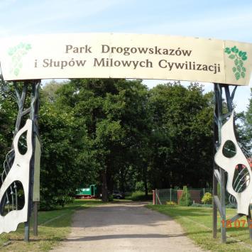 Park Drogowskazów i Słupów Milowych Cywilizacji w Witnicy
