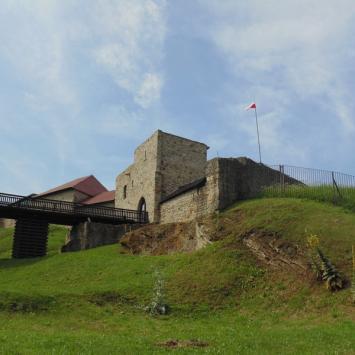 Dobczyce - zamek i skansen. - zdjęcie