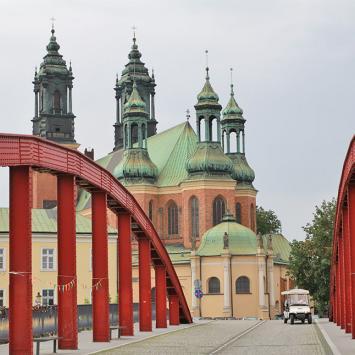 Katedra w Poznaniu z Mostu Jordana, Anna Piernikarczyk