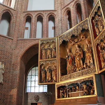 ołtarz w katedrze, Anna Piernikarczyk