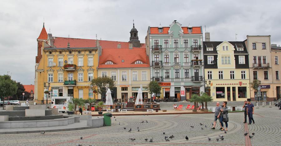 Rynek w Gnieźnie - zdjęcie