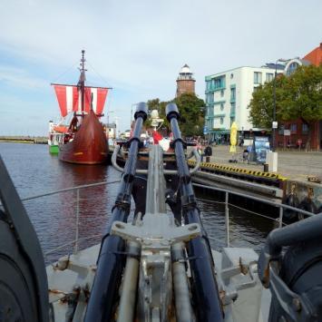 Rejs torpedowcem - Kołobrzeg